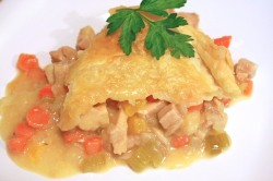Chicken Pot Pie with less guilt